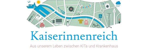 Bildschirmfoto von www.kaiserinnenreich.de