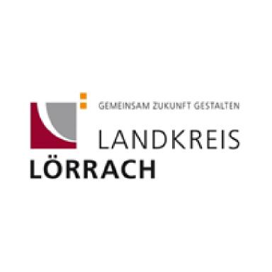 Logo Landkreis Lörrach - Link zu deren Website